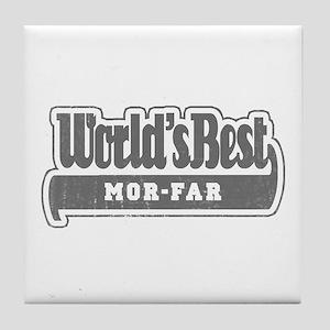 WB Grandpa [Swedish] Tile Coaster